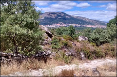 El Escorial from the Roman road