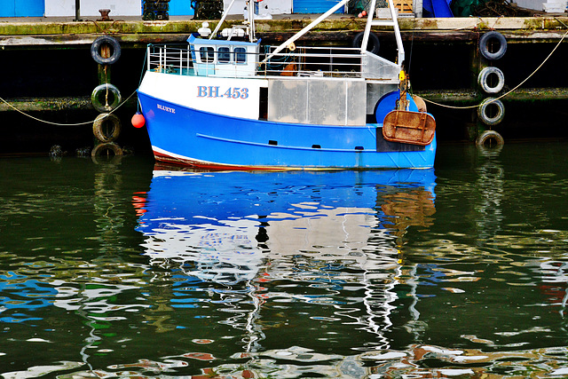 Fishing Boat. N.Shields Fishquay