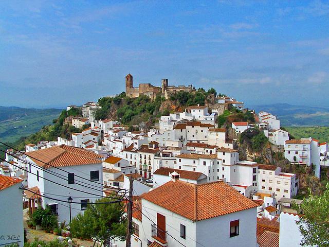 Casares, Andalusien  -  eines der weißen Dörfer