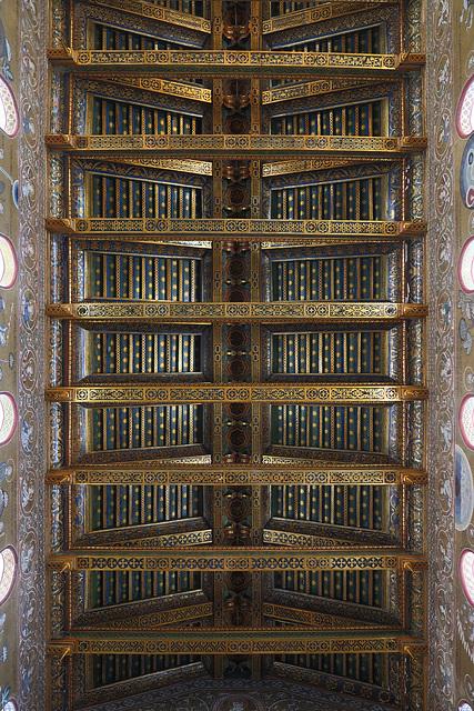 Gilded beams
