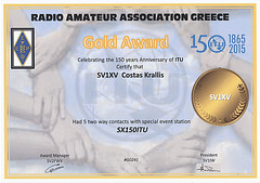 RAAG SX150ITU award
