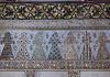 Arabic-style mosaic wall frieze