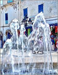 Tunisi : una bella fontana nella Medina
