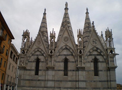 Church of Holy Mary of the spine.