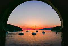 Sundown - Port of Cavtat - Dubrovnik