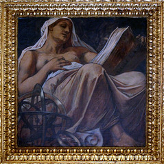 Urania, muse of astronomy