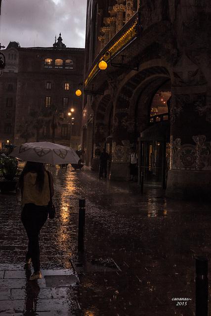 La luz y cuando llueve. I