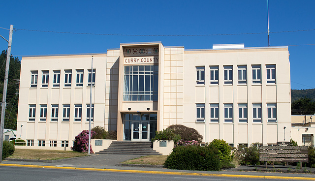 Gold Beach OR county courthouse (#1056)