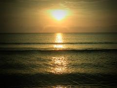 Sonnenaufgang mit Lochkamera