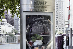 A Sign of Indulgence – Trump International Hotel and Tower, 401 North Wabash Avenue, Chicago, Illinois, United States
