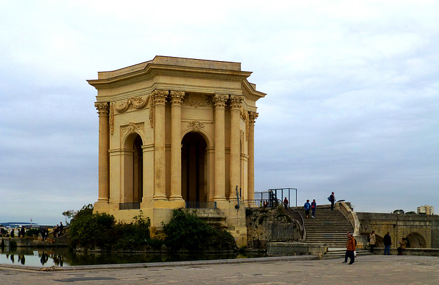 FR - Montpellier - Pavillon at the Promenade du Peyrou