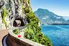 Lake Garda Shoreline Road