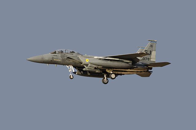 4th Fighter Wing McDonnell Douglas F-15E Strike Eagle 87-0178