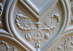 Ceiling Detail, Wightwick Manor, Wolverhampton