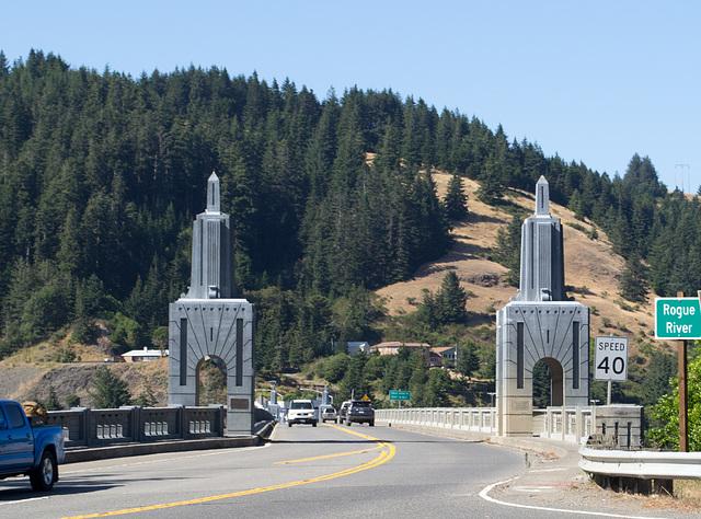 Gold Beach Rogue River Bridge (#1060)