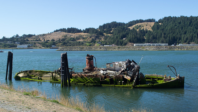 Gold Beach Rogue River boat (#1064)