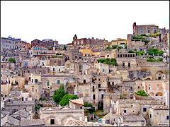 Matera : una bella inquadratura del patrimonio dell'umanità (UNESCO)
