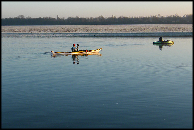 cold weather kayaking