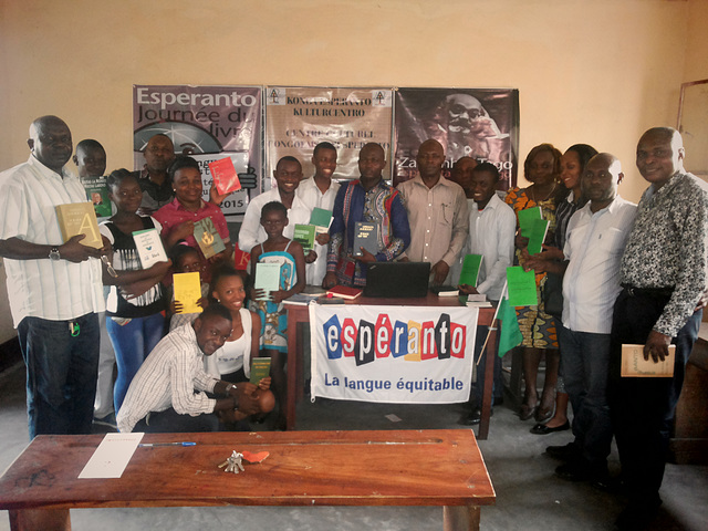 Zamenhof-tago 2015 en Kinshasa