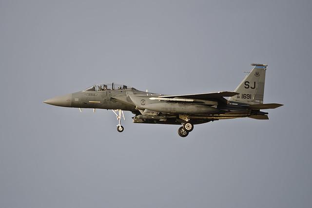 4th Fighter Wing McDonnell Douglas F-15E Strike Eagle 88-1691