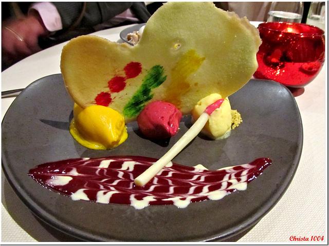 """""""bon appétit"""" ice cream - the painter's palette..."""