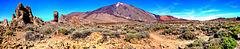 Ein Blick zum Teide, vorbei an den Roques de García. ©UdoSm