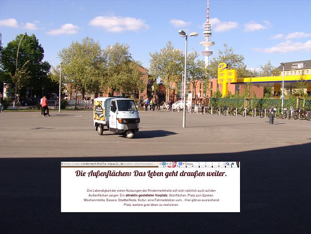 Eigener Anspruch und Wirklichkeit am Beispiel der Rindermarkthalle St. Pauli