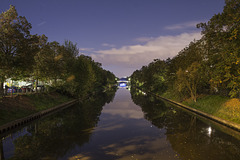 Neuköllner Schiffahrtskanal 4uhr30 / Septembernight :)