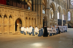 Enter the Choir ~ Lincoln Cathedral