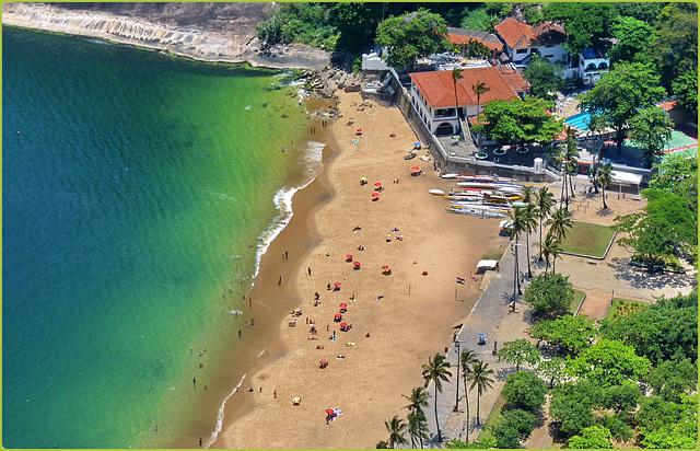 Rio de Janeiro : Praia vermehla - Morro da Urca -  (867)
