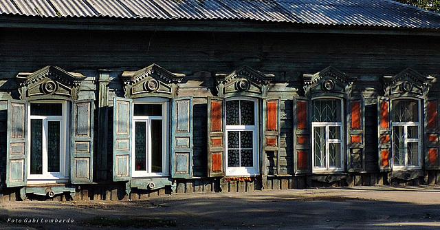 wooden house (Irkutsk - Siberia)