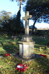 War Memorial, Holton, Suffolk