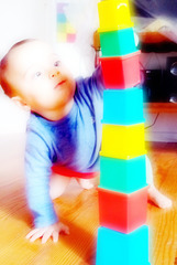 une tour , des truites