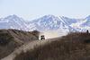 The Denali Highway in all its dusty splendor