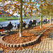Warmer sonniger Herbsttag - varma suna aŭtuntago