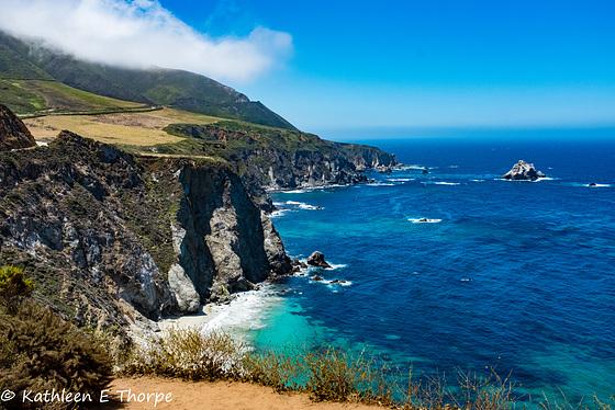 Carmel, Drive Along Big Sur, Pacific Ocean View 002