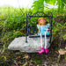 Wee Fairy on a Swing