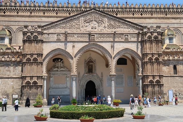 The main south portico