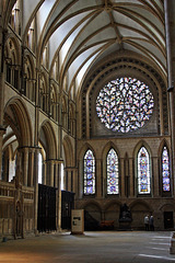 """""""The Bishop's Eye."""" ~ Lincoln Cathedral"""
