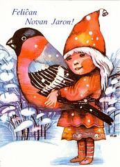 Bildkarto novjara - Estonio 1989