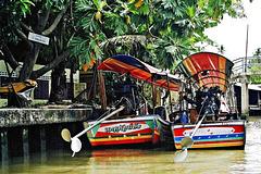 Bangkok,  Khlongs 4. ©UdoSm