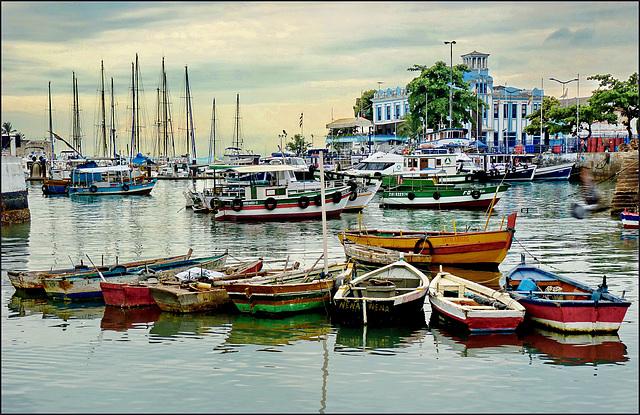 Salvador de Baìa : o porto de pesca - (796)