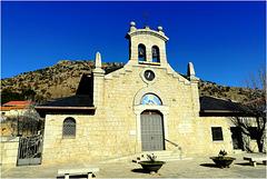 The church at Zarzalejo