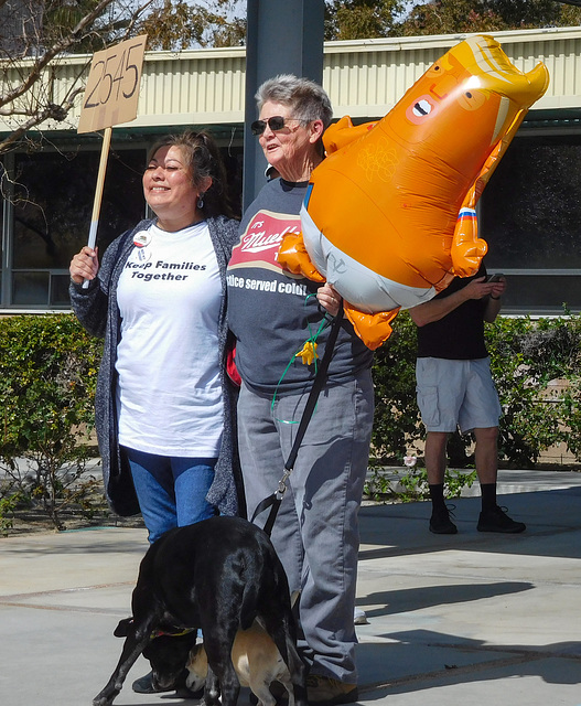 Palm Springs: Fake Crisis protest (#1446)