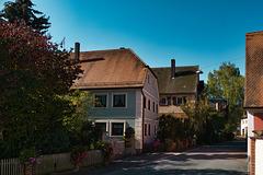 Schöne alte Häuser in Limbach
