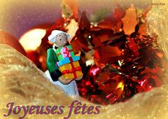 Bonnes fêtes à tous - Season's Greetings, happy holidays