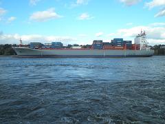 Containerschiff  META