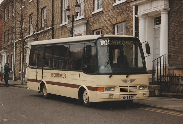 Richmond's 649 ETF in Bury St. Edmunds - 20 Jan 1996 296-08