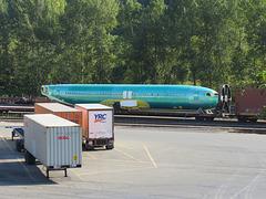 Air Mail By Rail