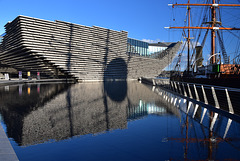 The new V&A and RSS Discovery on Dundee waterfront